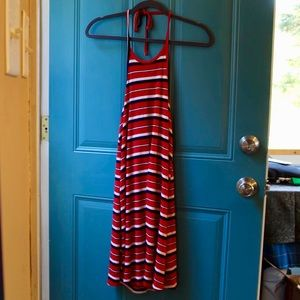 Striped Halter Mossimo Dress